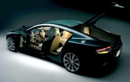 Offen für Familien: Vier ordentliche Sitzplätze und dazu ein Gepäckraum, der seinen Namen verdient. Aston Martin denkt über dieses Auto ernsthaft nach
