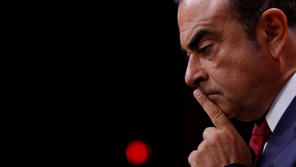 Carlos Ghosn sitzt seit zwei Monaten in Japan in Untersuchungshaft