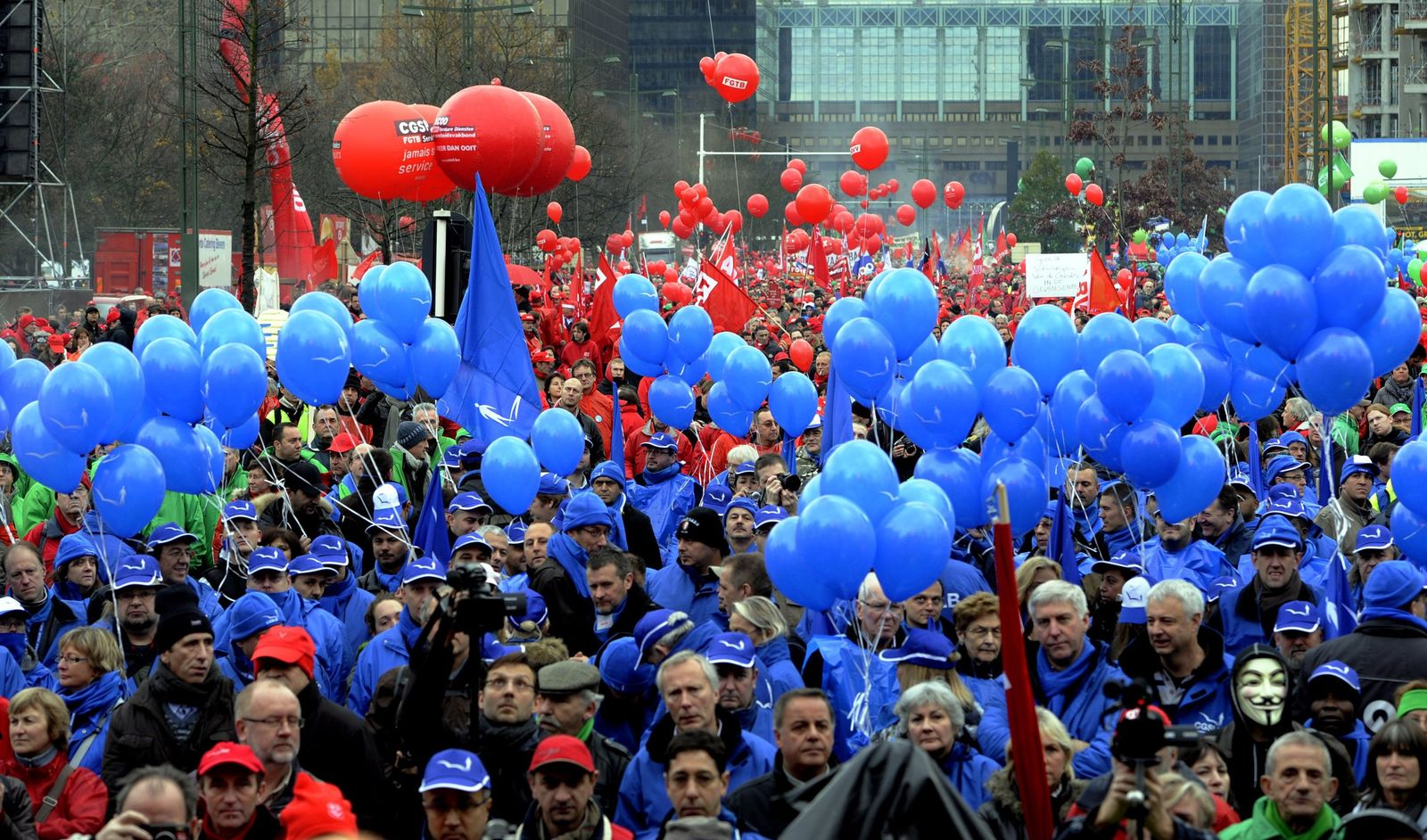 Belgien Streik