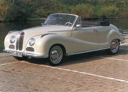 1954-1961: BMW Barockengel - Adenauers Albtraum