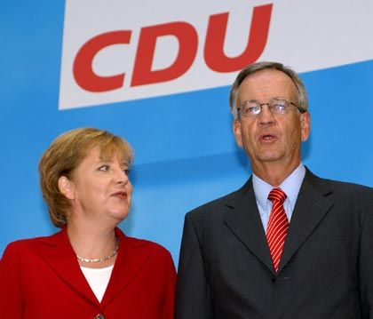 """""""Die wichtigen Probleme überhaupt nicht diskutiert"""": Von Pierer im Gespräch mit Angela Merkel"""