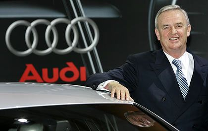 Setzt auf Audi-Manager: Der designierte Volkswagen-Chef Winterkorn
