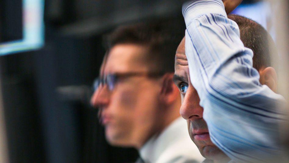 Enttäuscht: Akteure an der Börse hatten von der EZB mehr erwartet