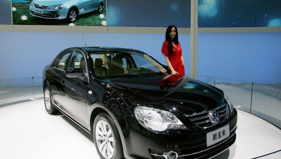 """Chinesischer VW Bora: VW sieht beim Bau seines Werks in Westchina """"viele Herausforderungen"""""""