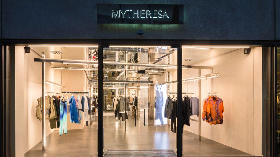 Mytheresa-Laden in München: Der Luxushändler will in New York an den Aktienmarkt