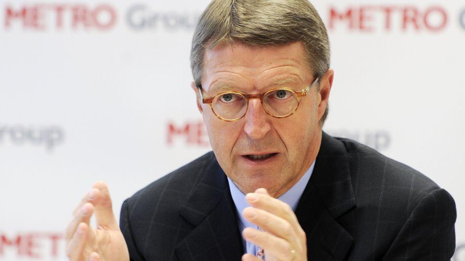 """""""Das Thema ist für uns erledigt"""": Eckhard Cordes, Vorstandsvorsitzender der Metro Gruppe"""
