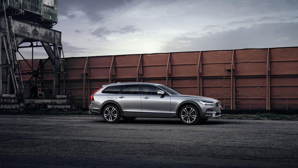 """Die leistungsstärksten Volvo-Modelle wie dieser V90 Polestar sollen künftig den Zusatz """"Polestar engineered"""" tragen"""