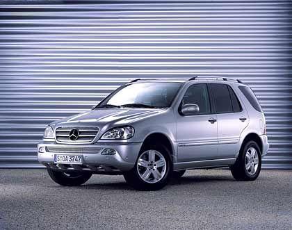 Geländetauglich: Mercedes M-Klasse