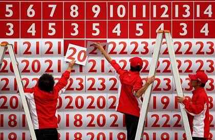 Zahlen über Zahlen: In China hat jede Ziffer eine Bedeutung