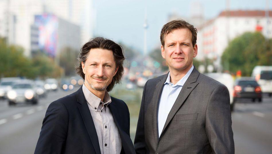 German-Autolabs-Gründer Holger Weiss (l.) und Patrick Weissert