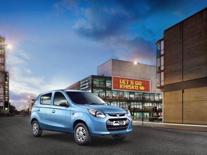 Suzuki: Der Maruti Alto ist in Indien sehr beliebt