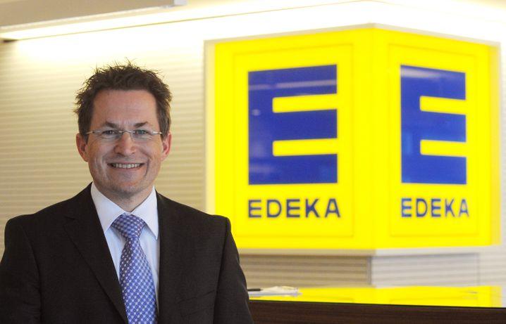 Caparros' Gegenspieler: Edeka-Chef Markus Mosa, hier eine Aufnahme aus dem Jahr 2010.