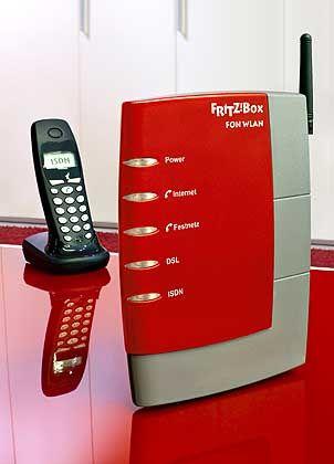 14 Millionen Anschlüsse in drei Jahren: Mit der Fritzbox kann das Haustelefon auf Web-Betrieb umgestellt werden