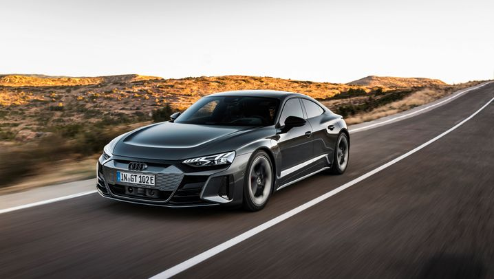 Teslas neuer Widersacher: Der Audi E-tron GT im Test