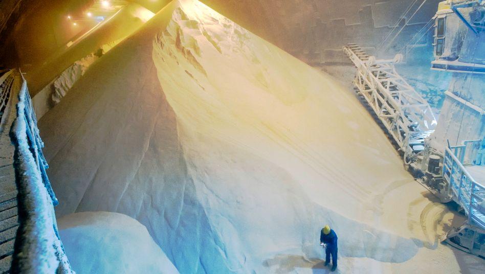 Salzspeicher: K+S profitierte zuletzt von der hohen Nachfrage nach Düngemitteln