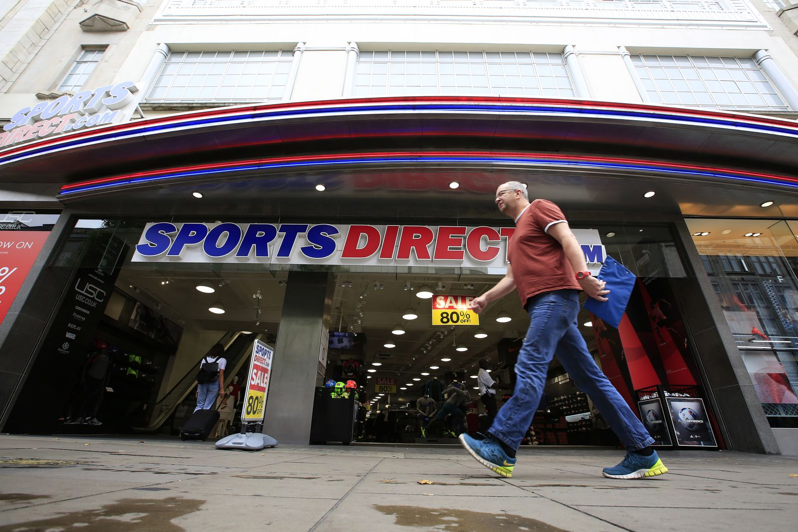 England Konjunktur SPORTS DIRECT