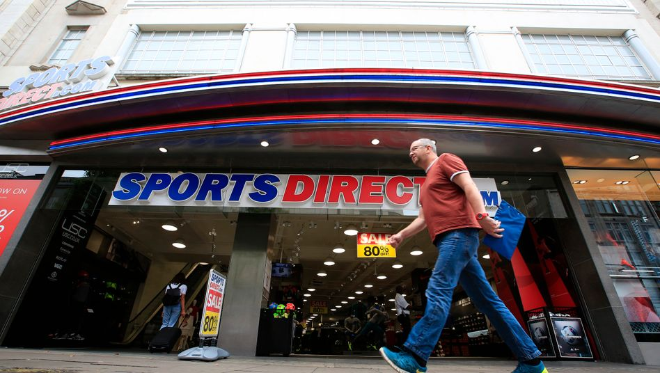Geschäft der Frasers-Marke Sports Direct in London