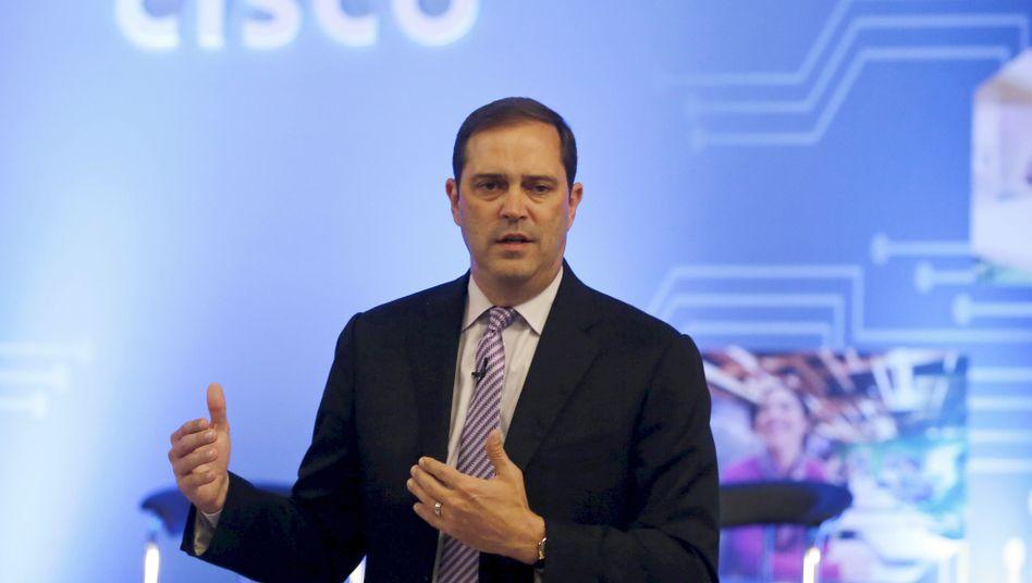 Cisco-Chef Chuck Robbins: 67 Milliarden Dollar heim in die USA, davon 25 Milliarden Dollar für Aktienrückkauf