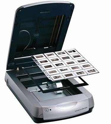 CCD-Scanner: Geräte mit dieser Technologie eignen sich besonders zum Scannen von Dias