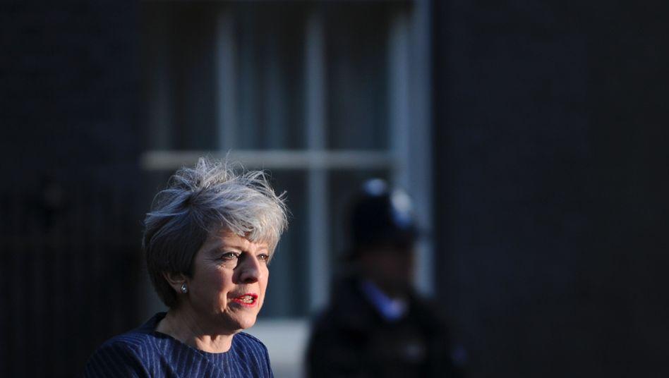 Theresa May: Die britische Regierungschefin will die Neuwahlen zum Machtausbau nutzen