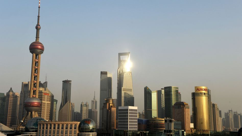 Skyline von Shanghai: Der Finanzsektor öffnet sich - zumindest ein bisschen