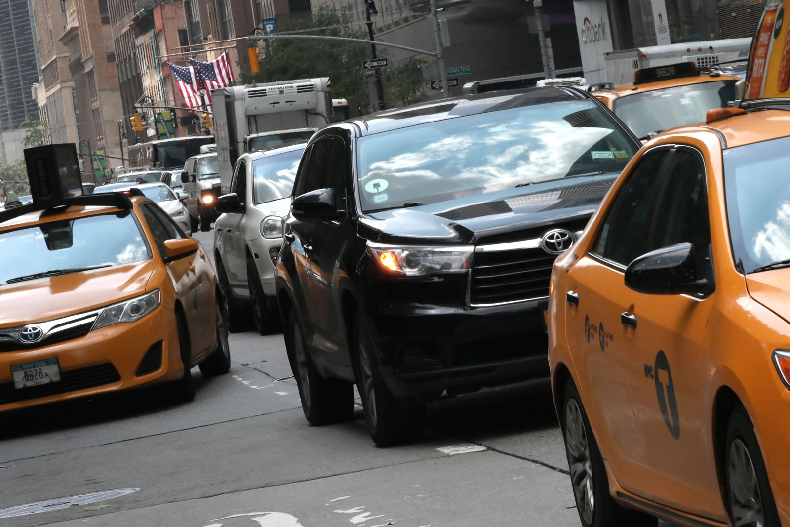 Uber / Taxi / New York
