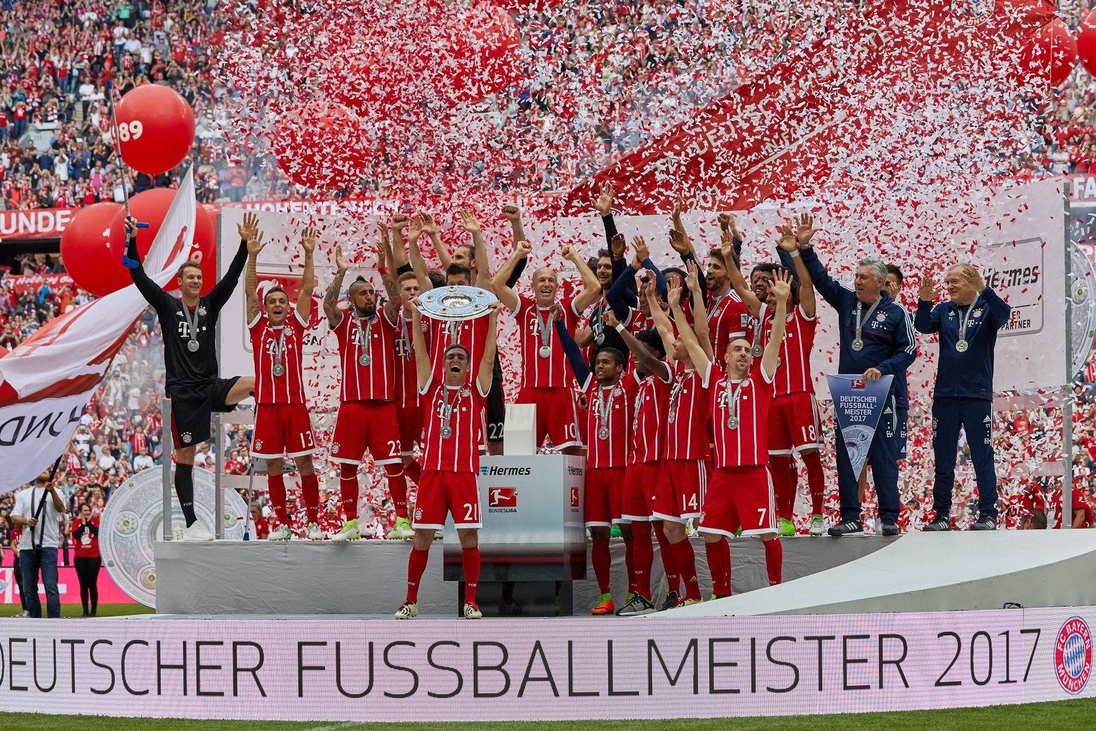 EINMALIGE VERWENDUNG FC Bayern München / Deutscher Meister