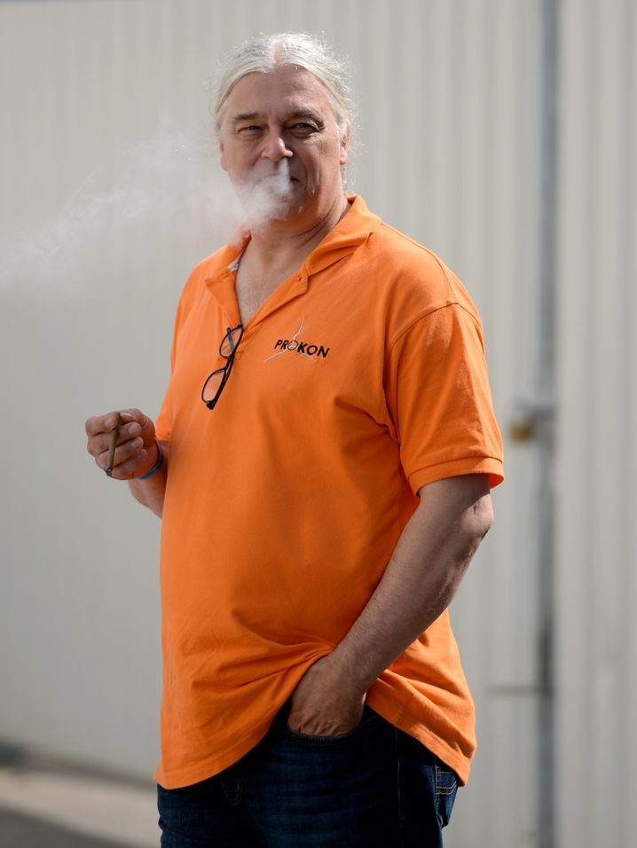 Lässt häufig Dampf ab: Prokon-Gründer Carsten Rodbertus