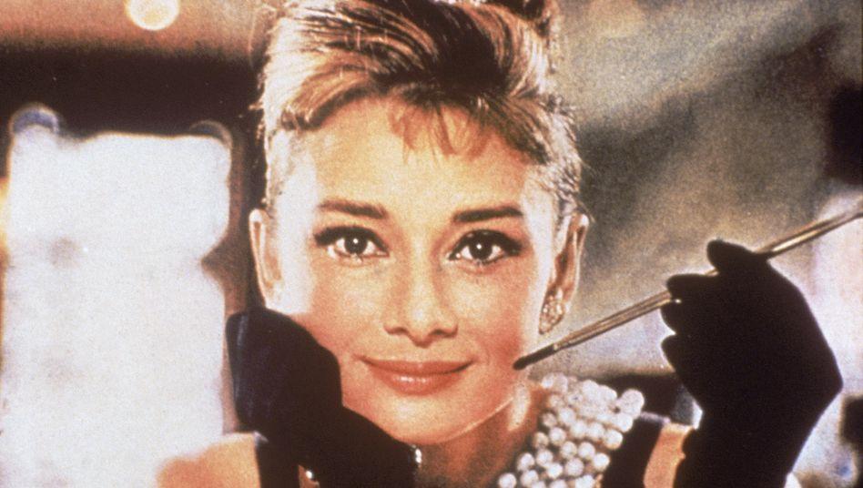 """""""Frühstück beiTiffany's"""": Die Marke Tiffany erlangte nicht zuletzt durch den Hollywood-Film im Jahr 1961 (hier mit Audrey Hepburn in der Hauptrolle) weltweiten Bekanntheitsgrad"""