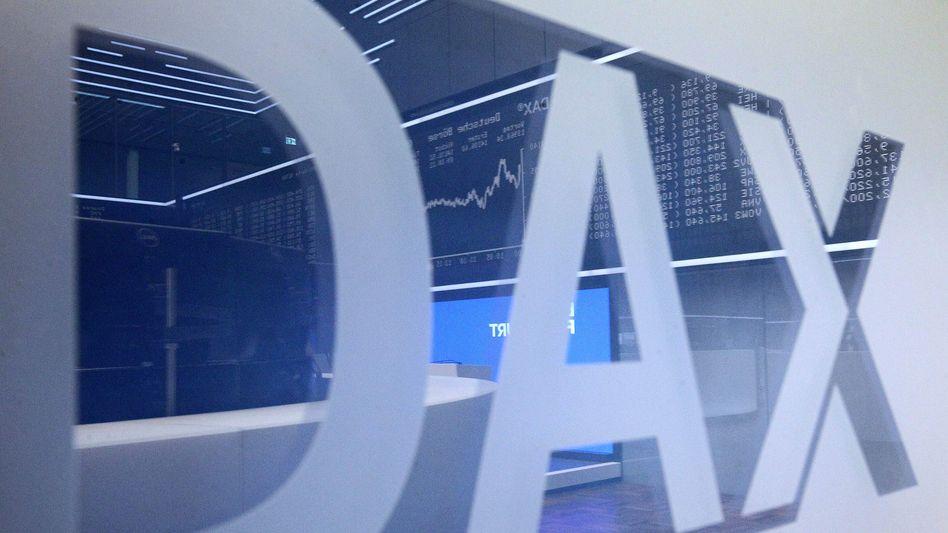 Rückschlag in Frankfurt: Der Dax ist wieder unter 14.000 Punkte gesunken