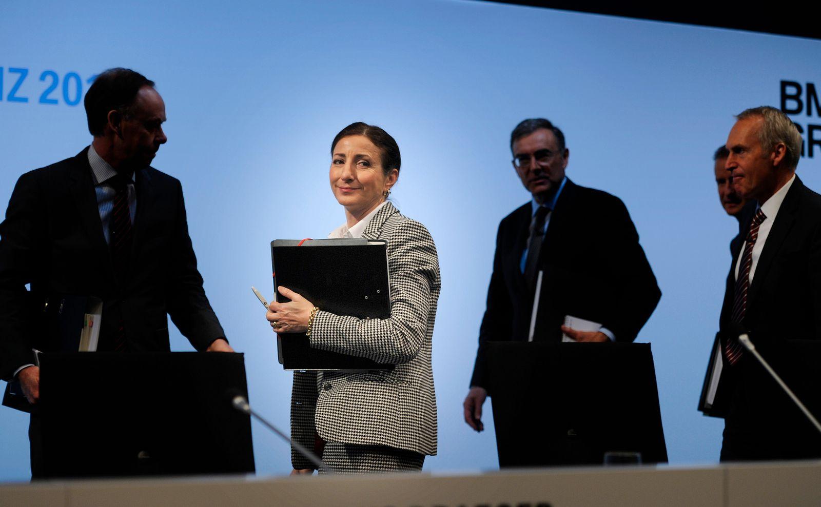Bilanz Pressekonferenz BMW GROUP