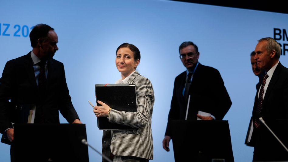Einzige Frau unter Männern: Milagros Caiña-Andree, im BMW-Vorstand für Personal zuständig.