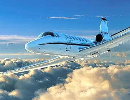 """Ein Jet wie die """"Citation Encore"""" kostet rund zehn Millionen Dollar. Für ein Achtel des Preises kann der Anteilseigner jährlich 100 Flugstunden buchen"""