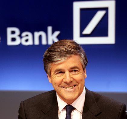 Endgültiger Abschied: Im Jahr 2010 will Josef Ackermann die Deutsche Bank verlassen - und vielleicht Unidozent werden