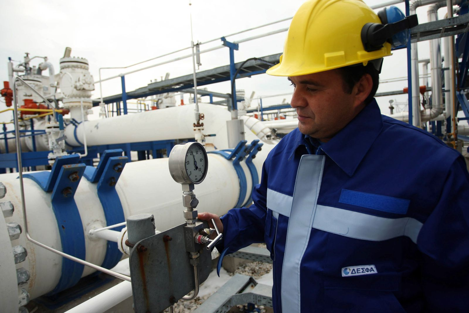 Griechenland / Russland / Gas / Gaskonzern DEPA