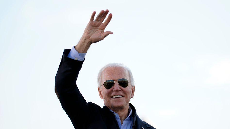 Joe Biden: Der künftige US-Präsident kann sich auch auf eine Mehrheit im US-Senat stützen, was ihm das Regieren zumindest in den kommenden zwei Jahren deutlich erleichtern sollte