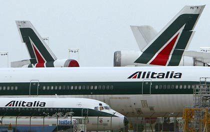 Kein Angebot: Die Lufthansa wird für die angeschlagene italienische Fluglinie nicht bieten