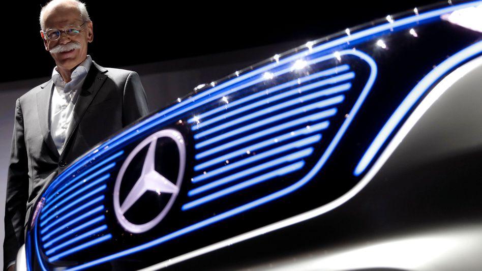 Daimler-Chef Dieter Zetsche könnte auch der neue Vorsteher der Holding werden