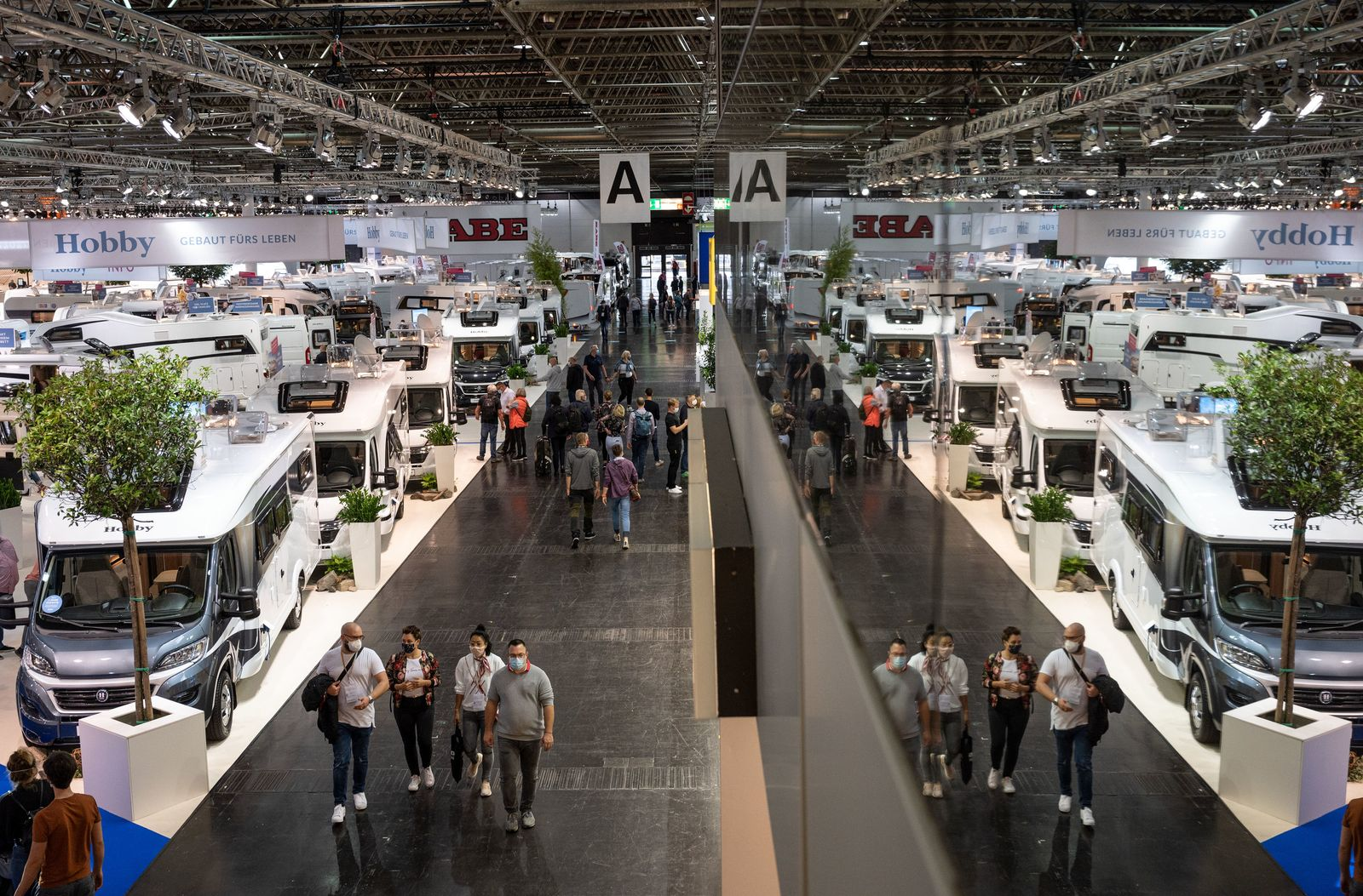 Caravan Salon 2020 in Düsseldorf