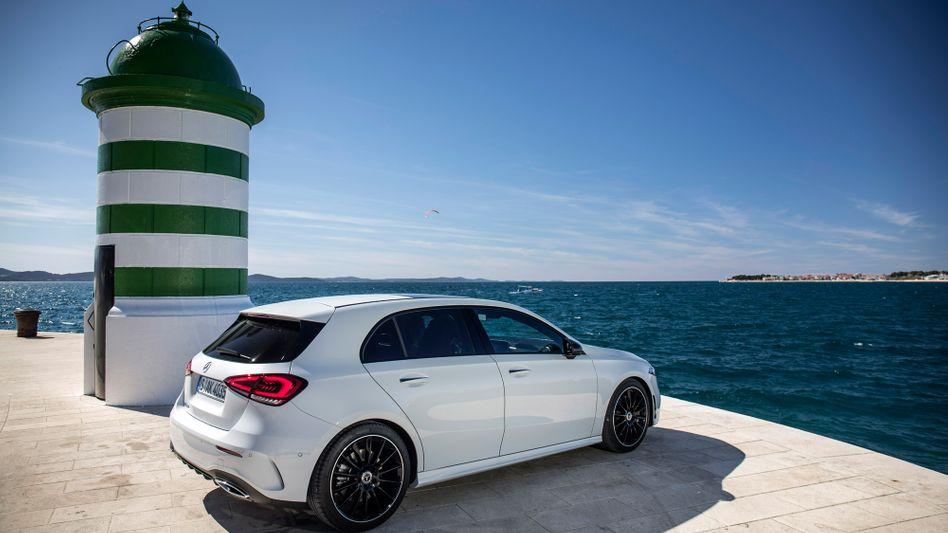 "Mercedes A-Klasse: Den Kompaktwagen kann man via ""Mercedes Flexperience"" auch im Abo nutzen"