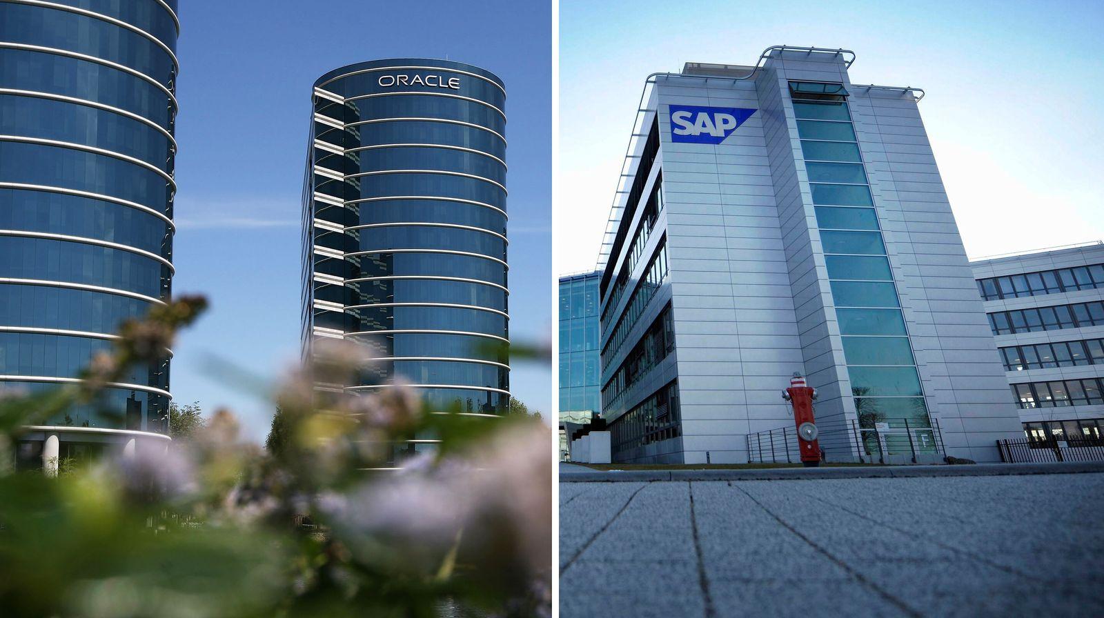 NICHT VERWENDEN KOMBO aus Oracle und SAP / Hauptsitze / Gebäude
