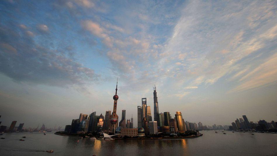 Shanghais Finanzdistrikt Pudong: Investoren auf der Flucht