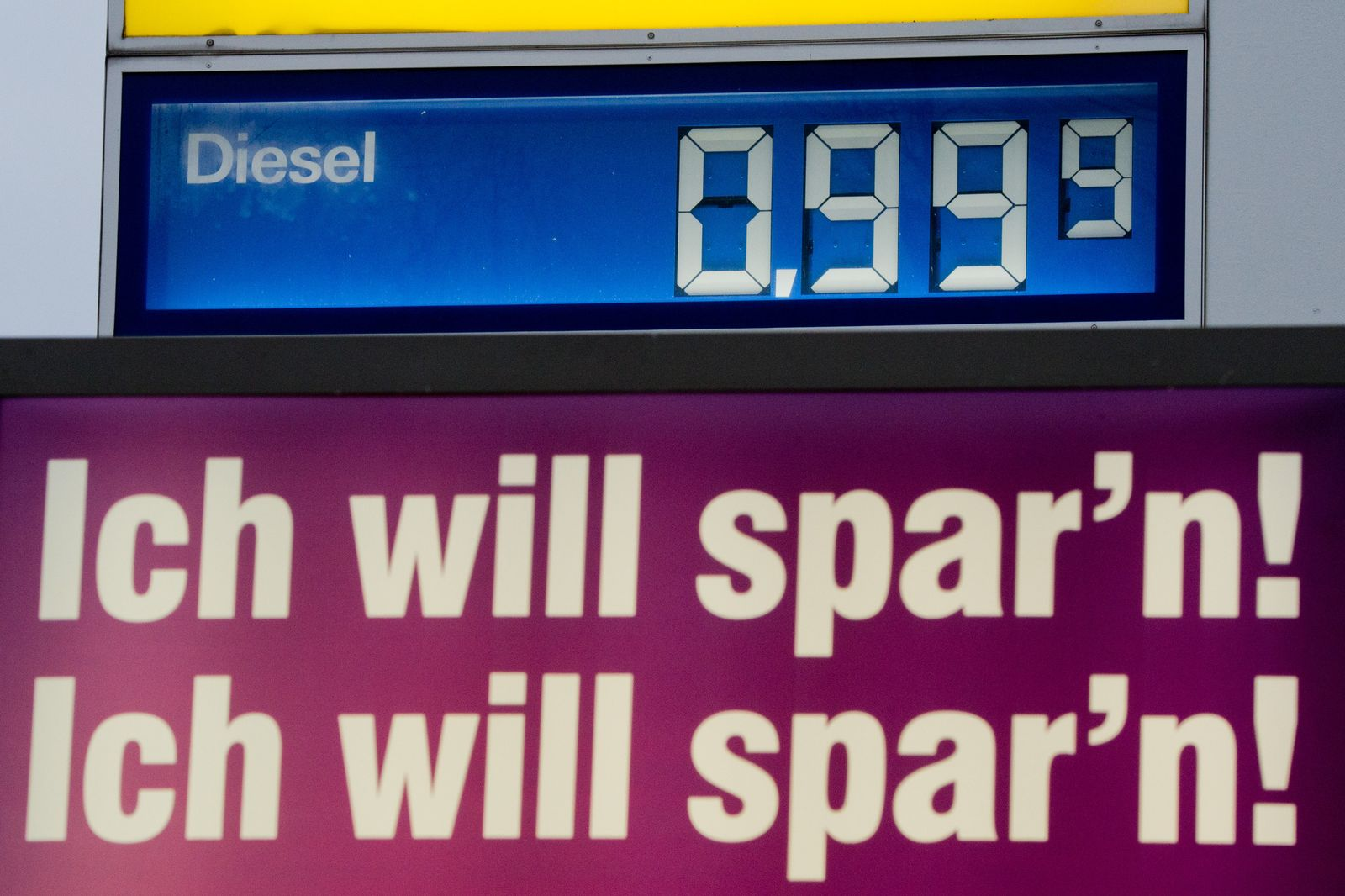 Tanken Preise Diesel