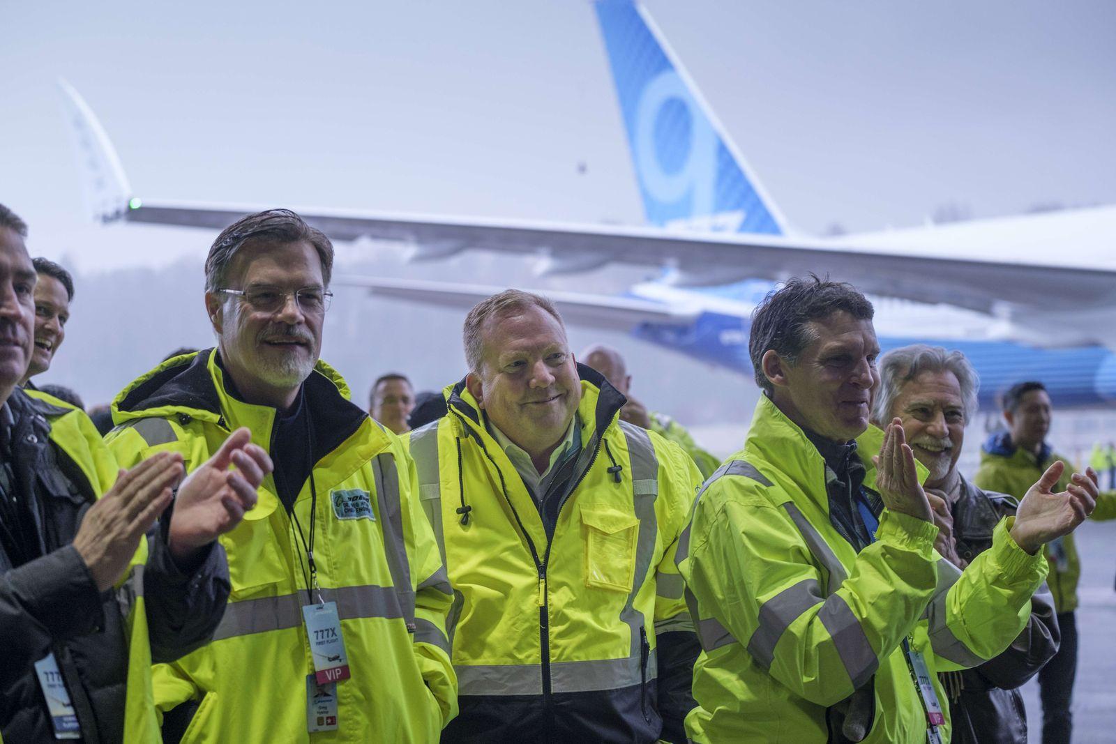 Boeing 777X / Erstflug