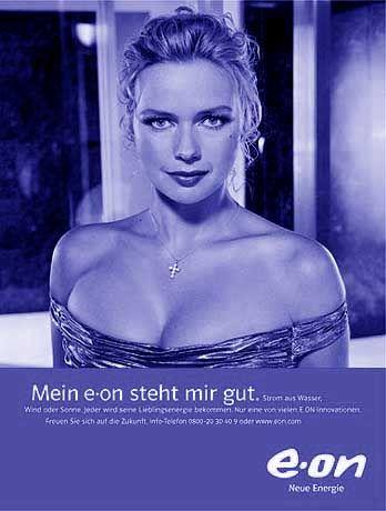 """Veronica Ferres in Eon-Reklame: """"Mein Eon steht mir gut"""" - wie ein teures Kleid"""