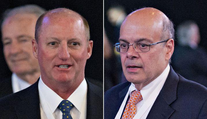 Gelten als mögliche Nachfolger: Greg Abel (links) und Ajit Jain (Bilder Archiv) werden zur Hauptversammlung von Berkshire Hathaway erstmals mit Buffett und Munger auf dem Podium sitzen und gemeinsam die Fragen von Aktionären und Journalisten beantworten