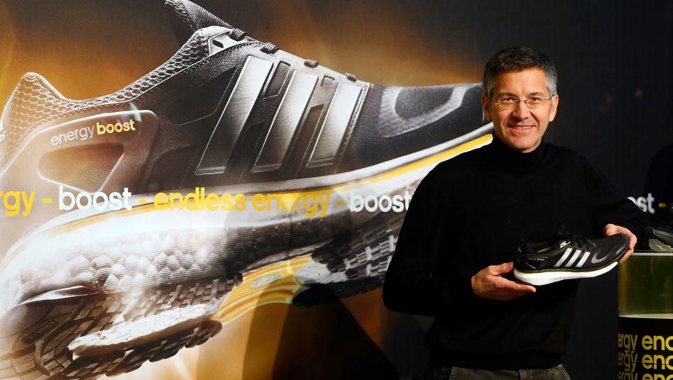 Adidas-Chef Herbert Hainer: Energieschub nach einem schwachen Quartal