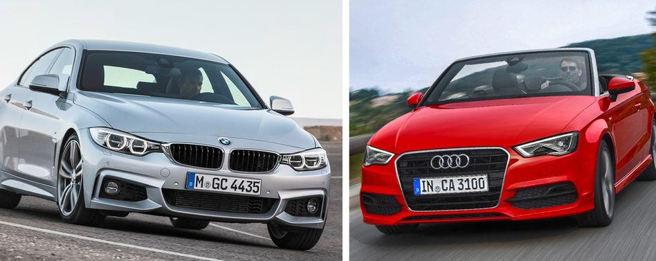 Kopf-an-Kopf-Rennen: BMW hat in den ersten Monaten weltweit 8000 Autos mehr verkauft als Audi. Der schärfste Wettbewerber hält das Rennen trozt älterer Modelle offen