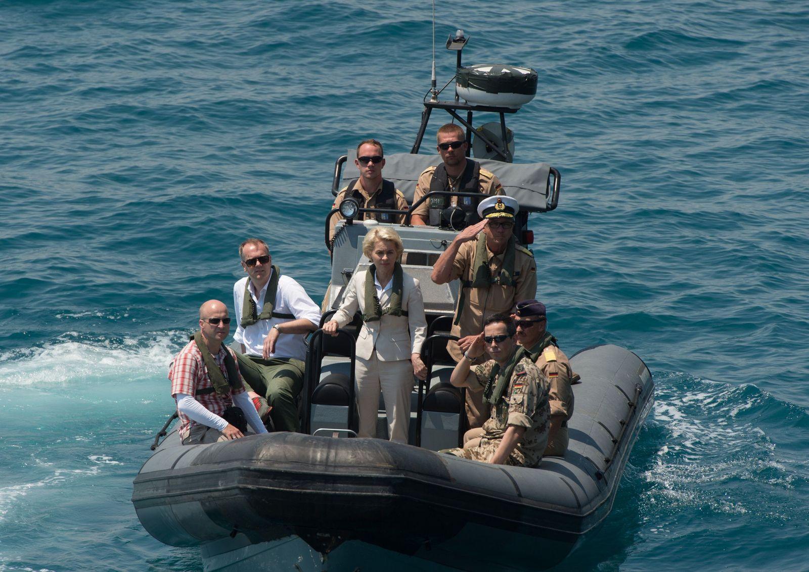 Deutsche Verteidigungsminister/ von der Leyen