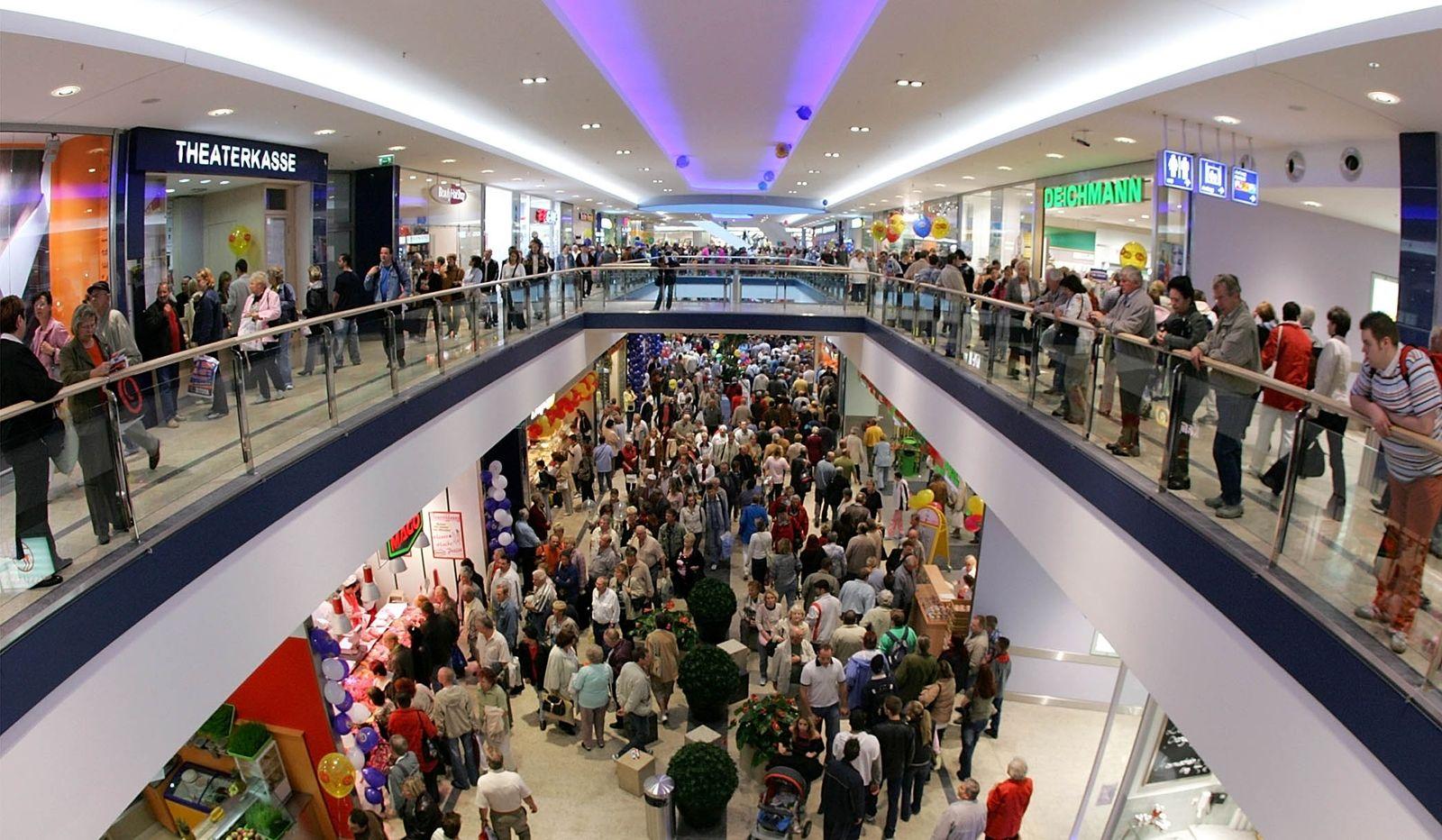 """Einkaufszentrum """"Eastgate"""" in Marzahn / Shopping / Einkaufen"""